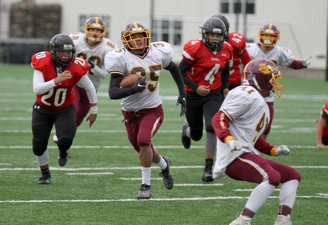 According to an early plan from the Rhode Island Interscholastic League, high school football season could start in late February.