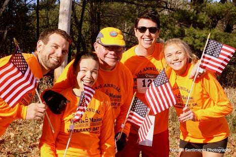 The Wells Chamber of Commerce will be hosting its 7th Annual Veterans Day 5K virtually this year.