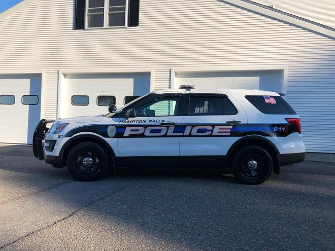 """Hampton Falls Police Chief Robbie Dirsa said a political sign, with two swastikas, placed at the corner of Drinkwater Road and Hillcrest Drive may be a """"possible hate crime."""""""