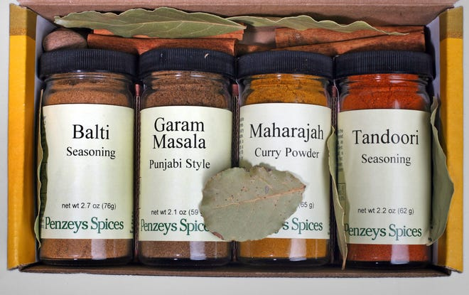 Penzeys Spices always has themed gift boxes like this curry spice one.