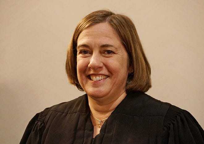 "Judge Mary S. McElroy says she has ""grave concerns about what's going on"" at the Donald W. Wyatt Detention Facility in preventing the spread of COVID-19. (The Providence Journal file)"