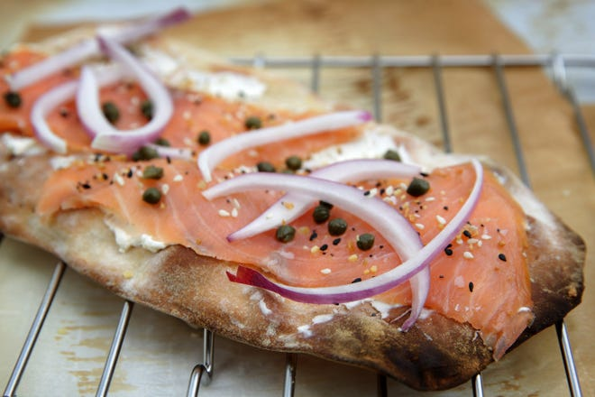 Everything But the Bagel Flatbread.