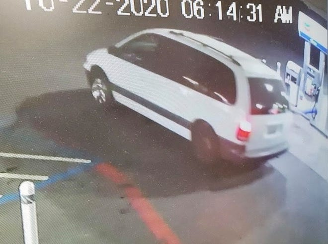 Police are searching for the owner of this vehicle in connection to a Stockton robbery