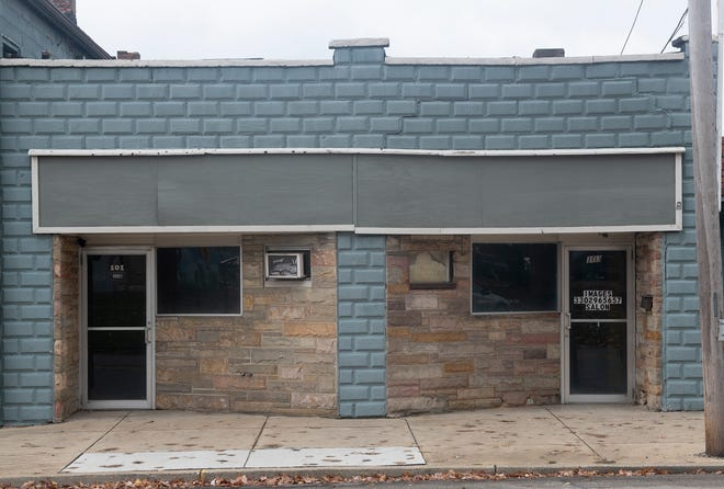 These former storefronts, at 101 and 103 N. Sycamore Street in Ravenna, will soon be turned into efficiency apartments. Vito Giulitto said the apartments will be rented through a program that helps young adults who have aged out of the foster care system.