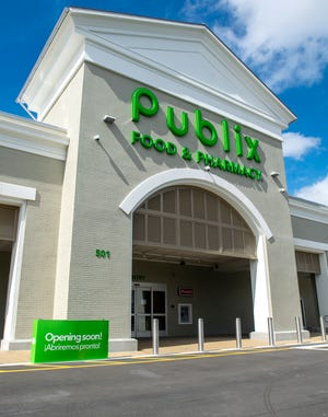 Publix at Town and Country Plaza, 501 N. Beneva Road, in Sarasota. In February, the Lakeland-based company announced it would give employees who completed the full COVID-19 vaccine a $125 Publix gift card.