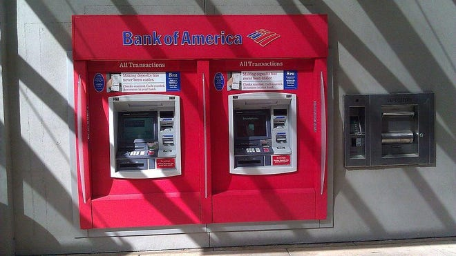 Out-of-network ATM fees declined for the first time in years.
