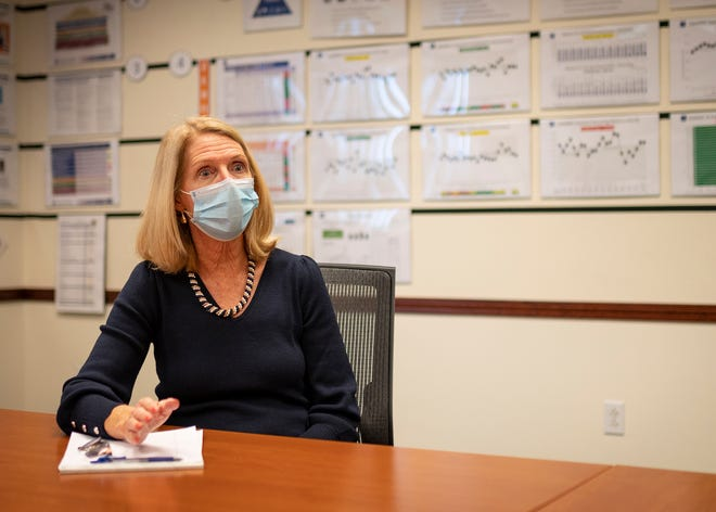 Kathleen Driscoll, senior vice president and chief philanthropy officer at UMass Memorial Health Care.