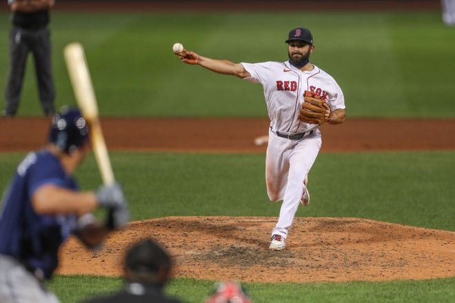 Jose Peraza even had to step in and pitch for the Red Sox in August.
