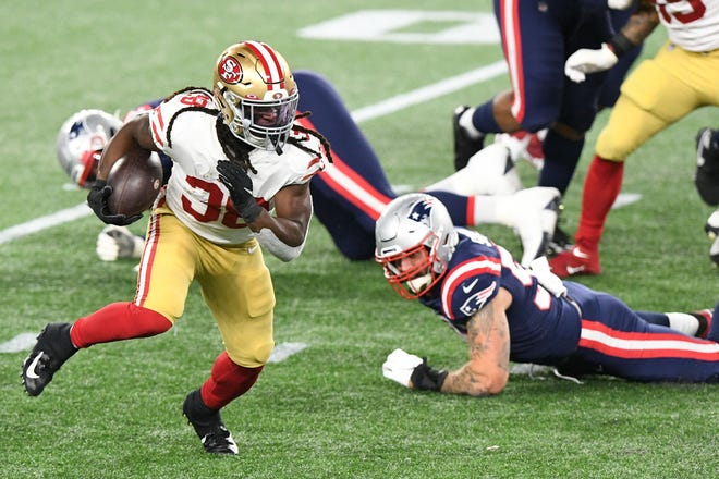 The Patriots had no answer for the 49ers' running game on Sunday.