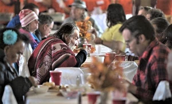 Although the traditional large-scale community dinner may be in doubt this Thanksgiving, Puebloans always find a way to reach out to those in need.