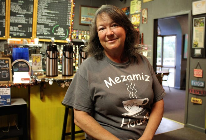 Melinda Roberson has the coffee brewing at Mezamiz Coffee House, of which she took ownership in August. Oct. 28 2020