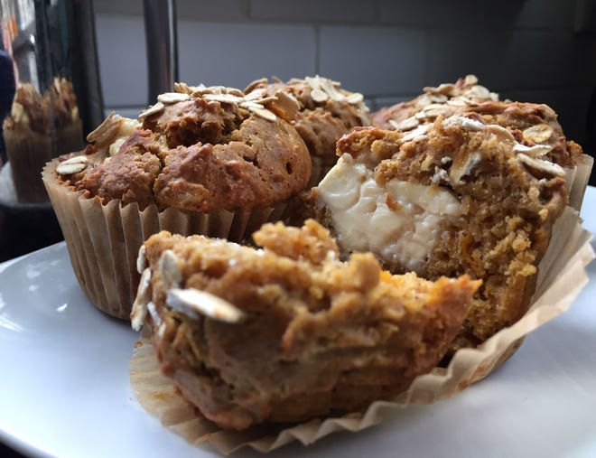 Pumpkin maple muffins are the perfect fall breakfast treat.