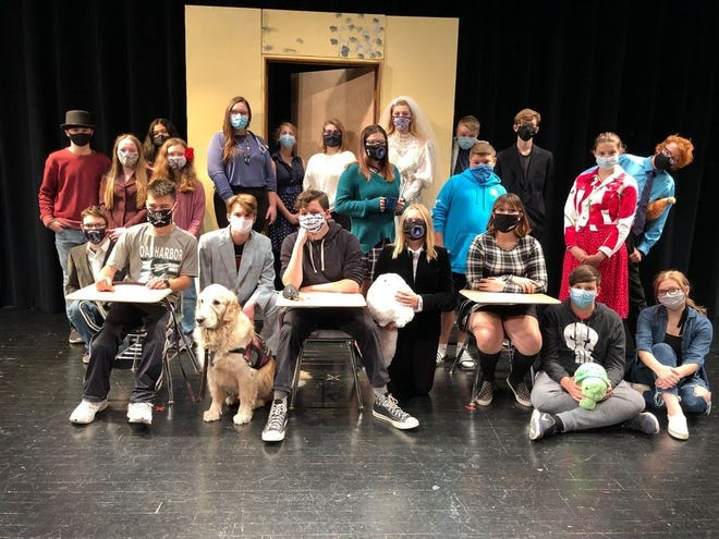 "The Oak Harbor Thespians will present its fall production of one-acts, ""It's Just a Stage."""