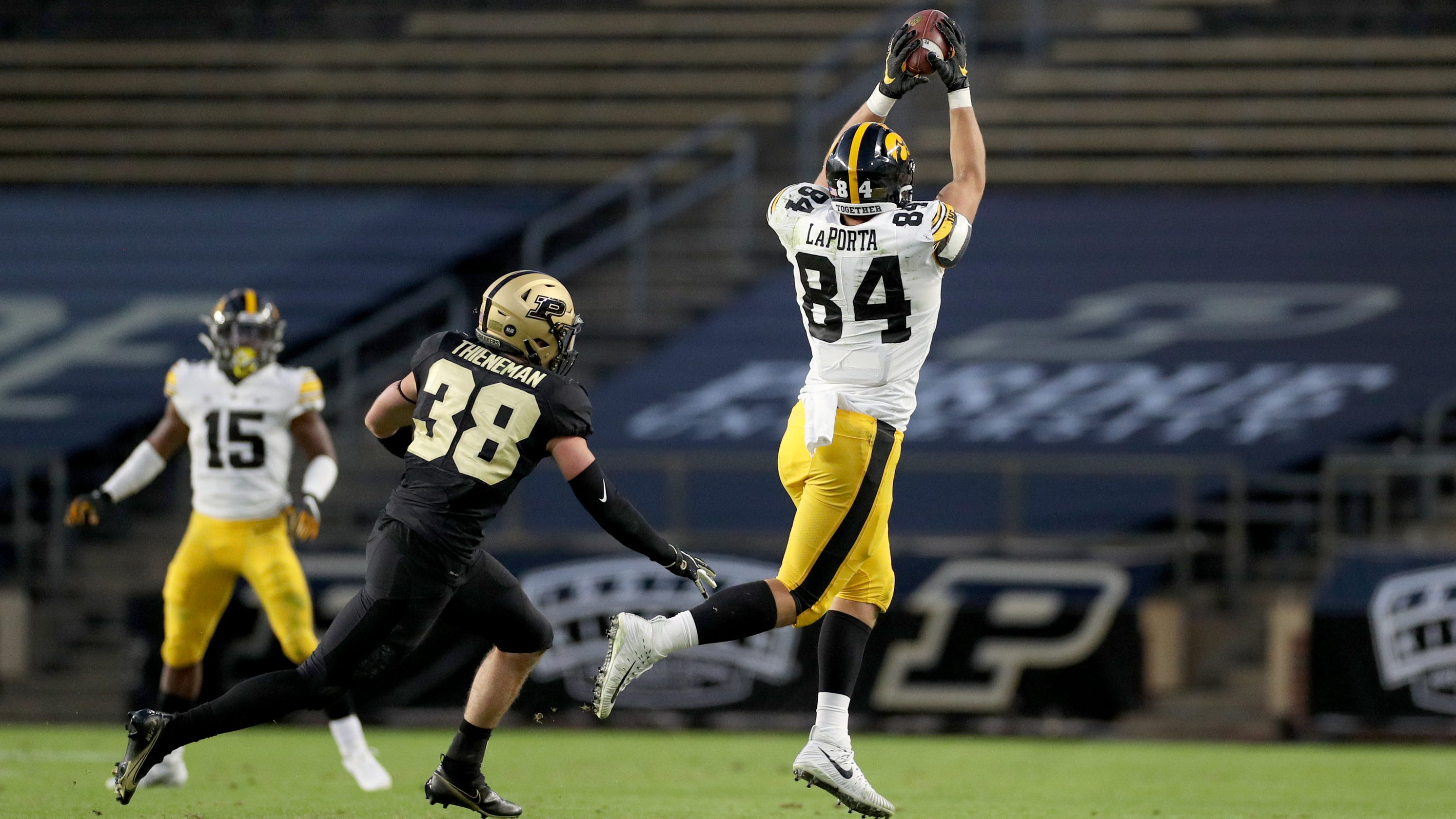 Tracing Sam LaPorta's path from small-town sensation to budding star tight end at Iowa