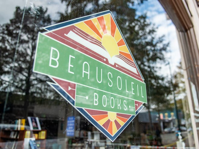 Beausoleil Books, downtown Lafayette's first independent bookstore, has a large French influence, as well as romance novels, young adult books and everything in between. Friday, Oct. 27, 2020.