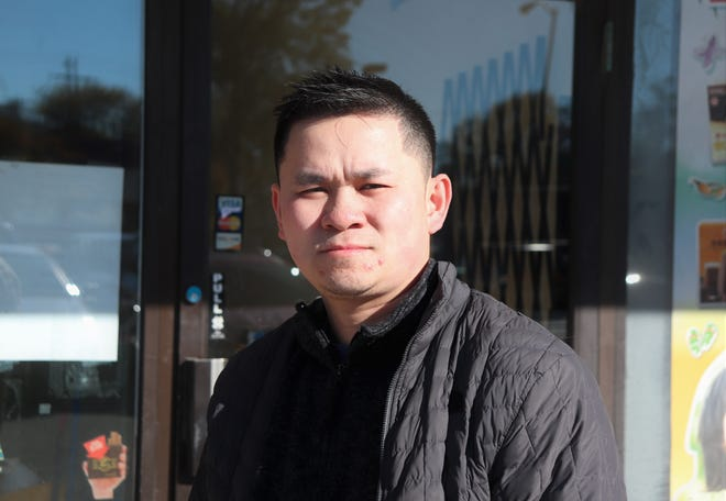 Duc Nguyen, owner of Bambu, hopes to have his coffee, tea and smoothie business open by mid-November at 10708 Oklahoma Ave. in West Allis.