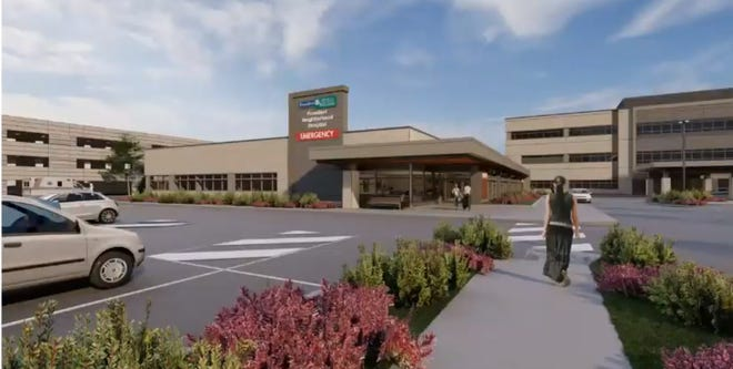 The Oak Creek plan commission approved site and building plans for an approximate 13,700-square-foot emergency department addition to Froedtert's Drexel Town Square Health Center.