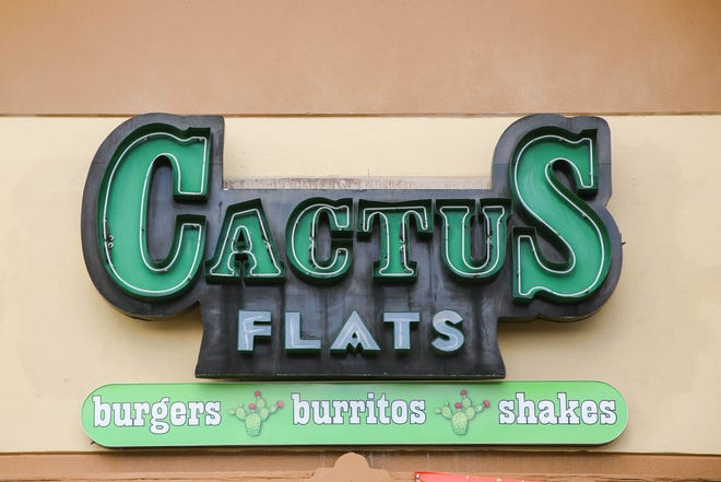 Cactus Flats restaurant is shown in Las Cruces on Wednesday, Oct. 28, 2020.