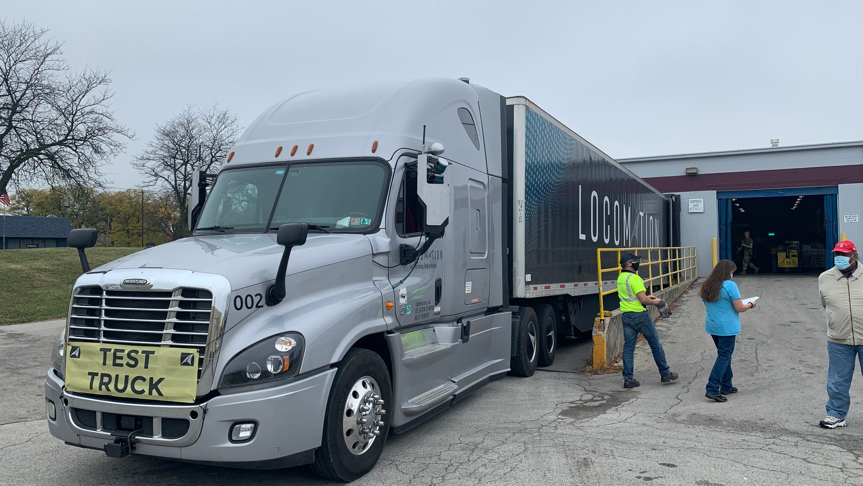 Self-driving semi travels across Ohio in test run