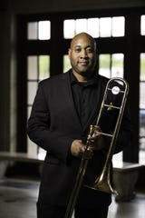 Trombonist Isrea Butler is part of the Gateways Brass Collective, which will perform on Nov. 13 as part of the 2020 Gateways Music Festival. Photo by Adam Fenster