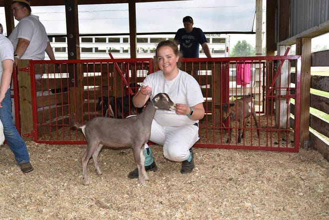 Gretchen Kelley went on to start her own dairy goat herd after winning a goat from the Share a Dairy Kid program.