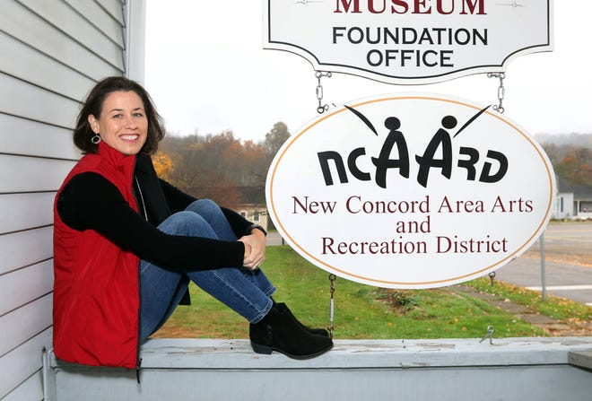 Mary Beth Caudill's position as Director of the New Concord Area Arts and Recreation District is just the latest line on a long and impressive resume.