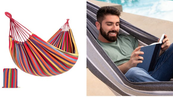 Best gifts from Walmart: Best Choice Products 2-Person Cotton Hammock