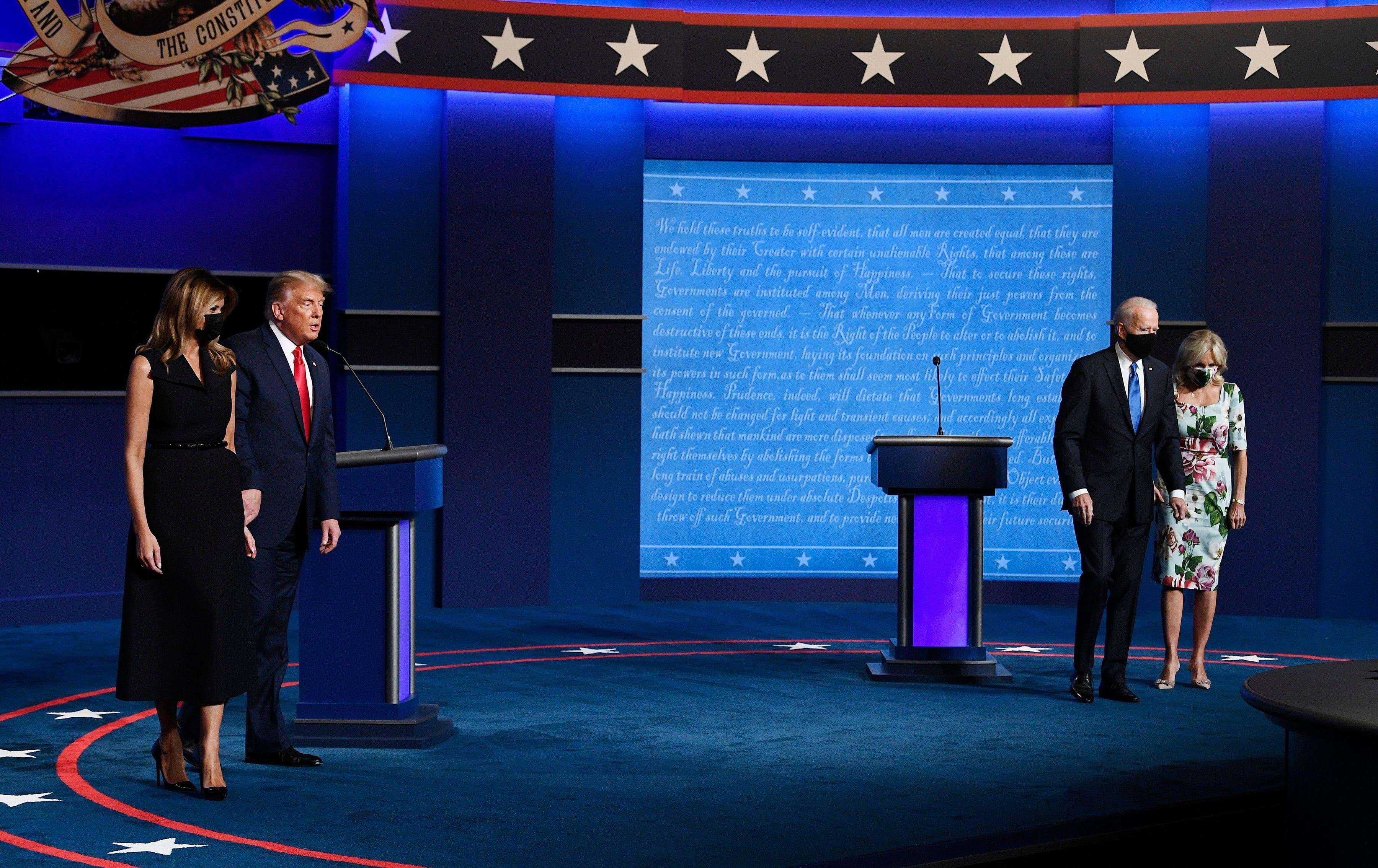 The presidential debate.