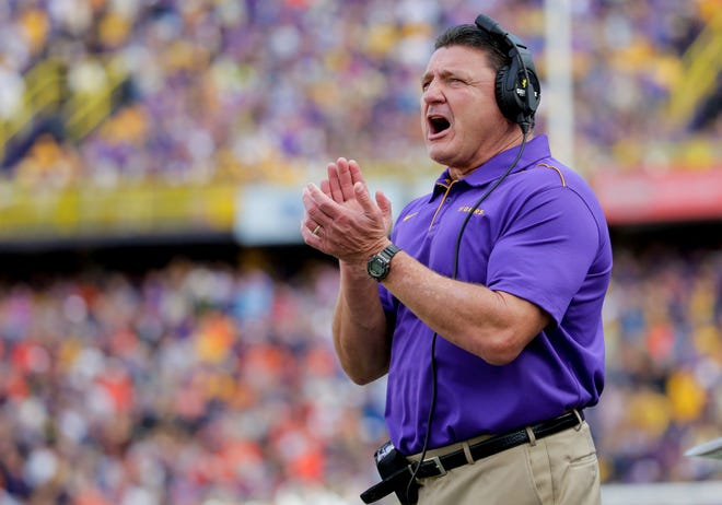 LSU football coach Ed Orgeron has put together the fourth ranked recruiting class in the nation for 2021, according to Rivals.com.