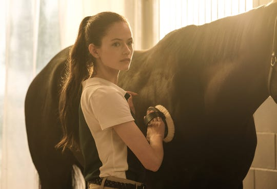 """""""Black Beauty,"""" the new reimagining of Anna Sewell's novel, stars Mackenzie Foy as a spirited teenage girl who forms an unbreakable bond that lasts years with a wild horse born free in the West."""