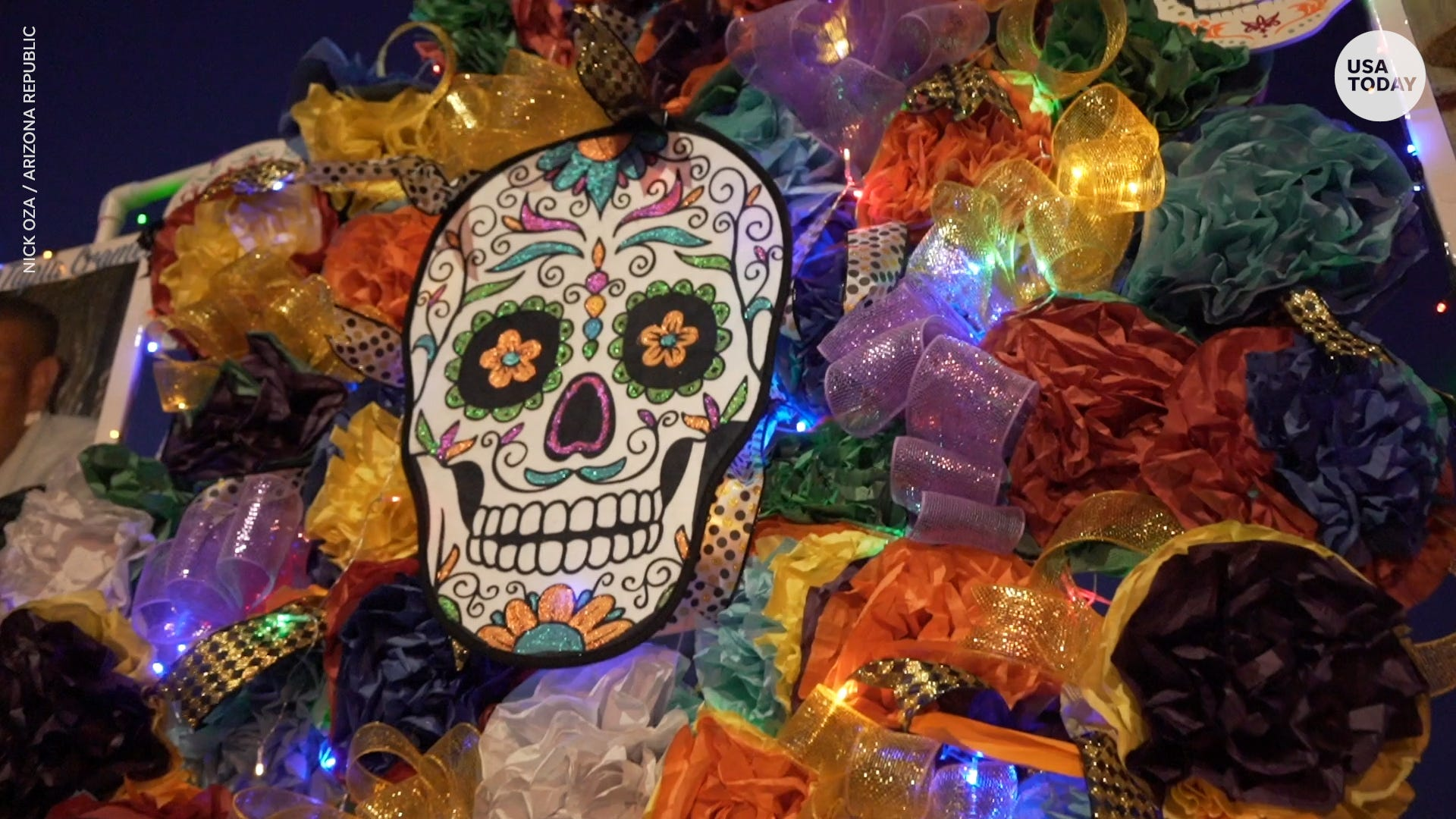 Dia de los Muertos, Day of the Dead, is a time to remember loved ones' lives