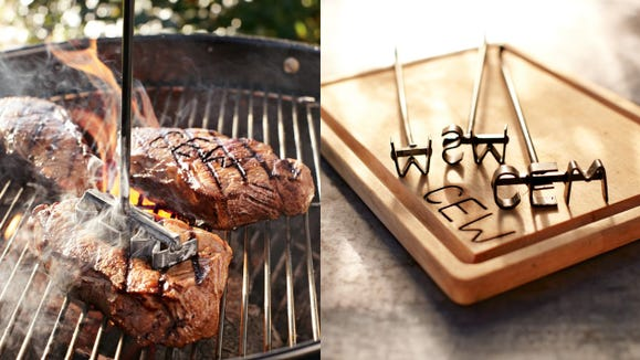 Best gifts for husbands 2020: Monogrammed Steak Brand