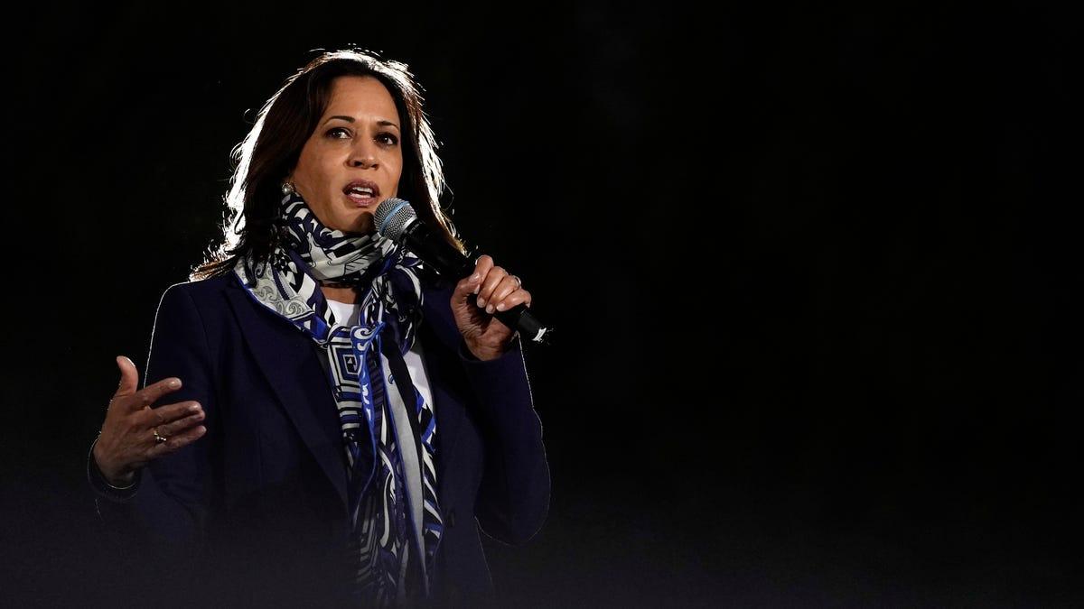 Vice President-elect Kamala Harris: A look at her political career