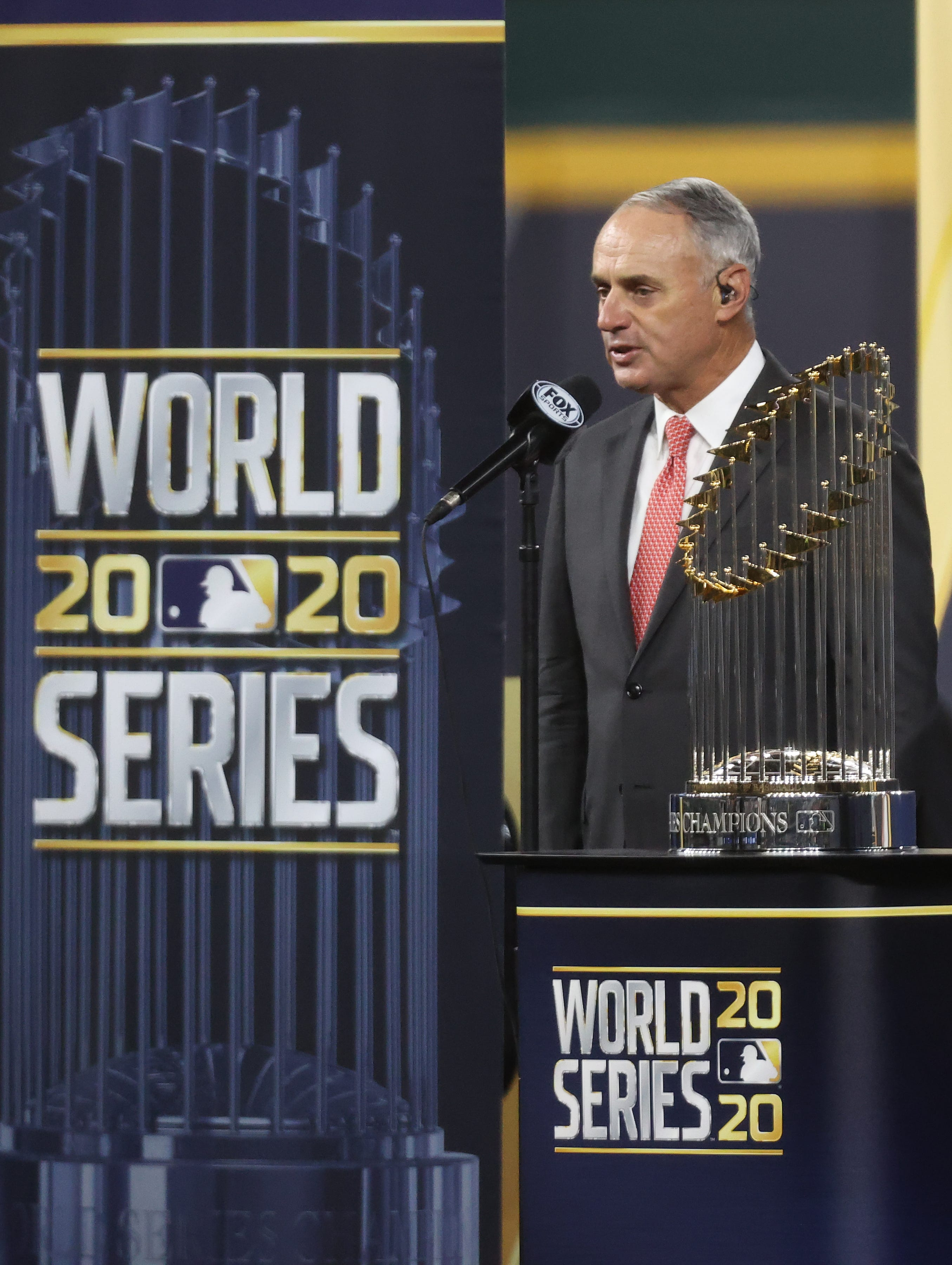 Commissioner Rob Manfred weighs in on Justin Turner COVID-19 controversy, next steps for MLB