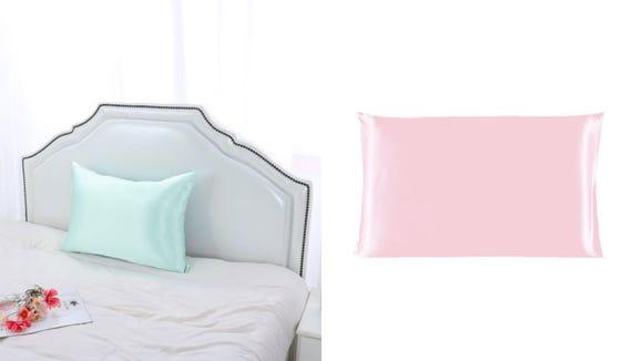 Best gifts from Walmart 2020: PiccoCasa silk pillowcase