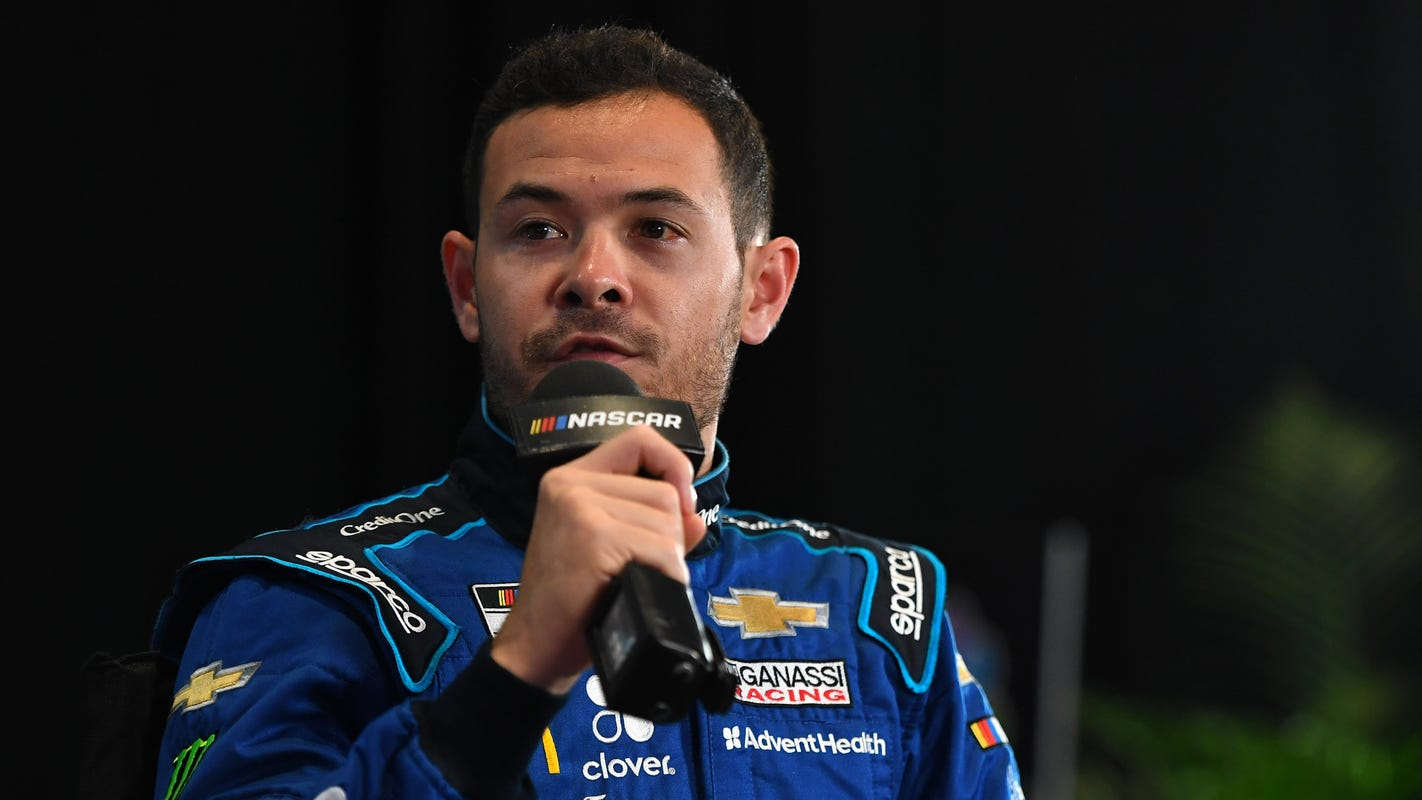 Kyle Larson officially returning to NASCAR after signing deal to drive No. 5 for Hendrick Motorsports
