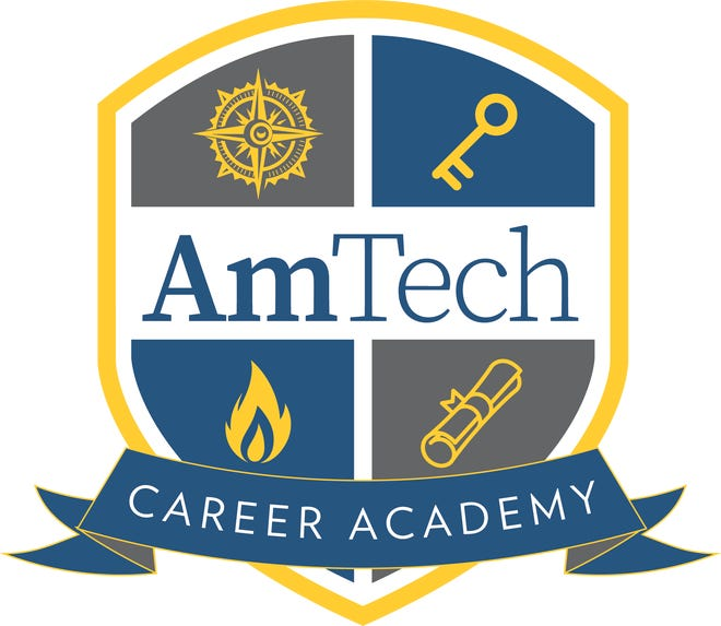 The logo for the new AmTech Career Academy