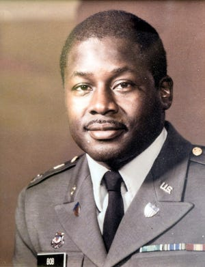 Veteran Theo Bob during his time in the service.