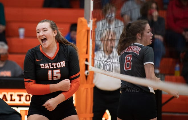 Tess Denning helped lead Dalton to a state semifinal appearance in volleyball, along with being a standout basketball and softball player.