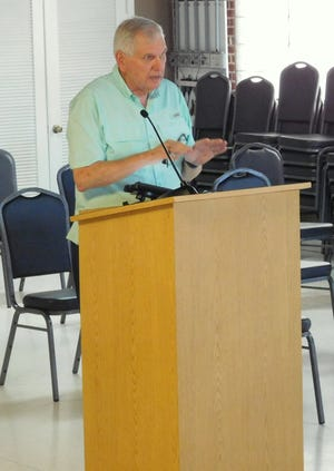 Ken Parker, senior adviser with the Florida City and County Management Association, met with Flagler Beach City Commissioners on Wednesday to discuss the hiring process for a new city manager.