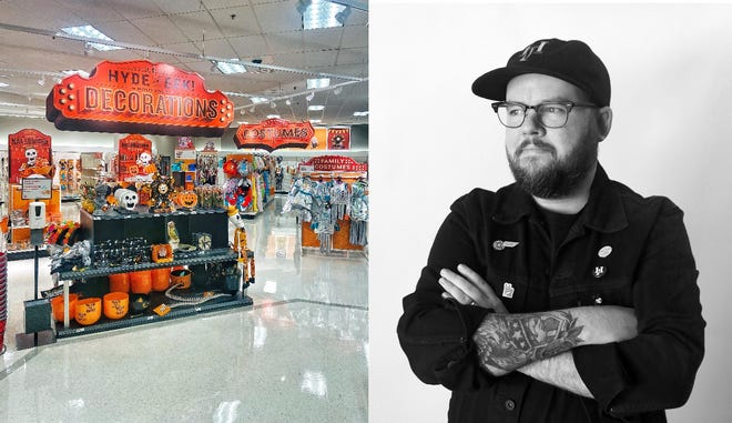 Clark Orr, a DeLand High School alumnus, is the mind behind this year's in-store Halloween-themed decor in Target stores across the country.