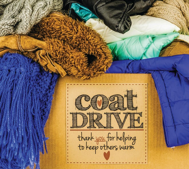 Participants can pick up new, clean, and gently used coats for free, no questions asked. Coats are available for men, women and children.