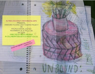 UNBOUND opens Nov. 5 and will run through Nov. 7 on Zoom.