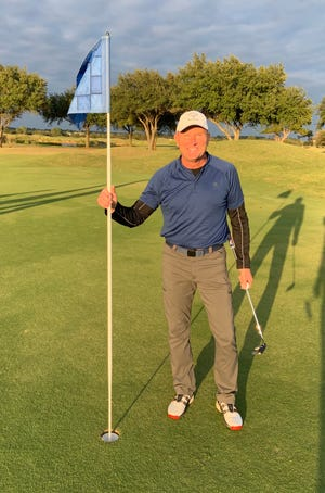 Mark Andersen recorded his first-ever hole in one last Saturday on the 10th hole of the Apache Links Course at Squaw Valley.