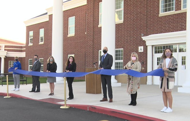 "Hudson City Schools virtually celebrates the opening of the new Middle School with a ribbon cutting presentation and speakers. Learn more about the incredible school with a link to a ""fly inside"" virtual tour at your leisure."