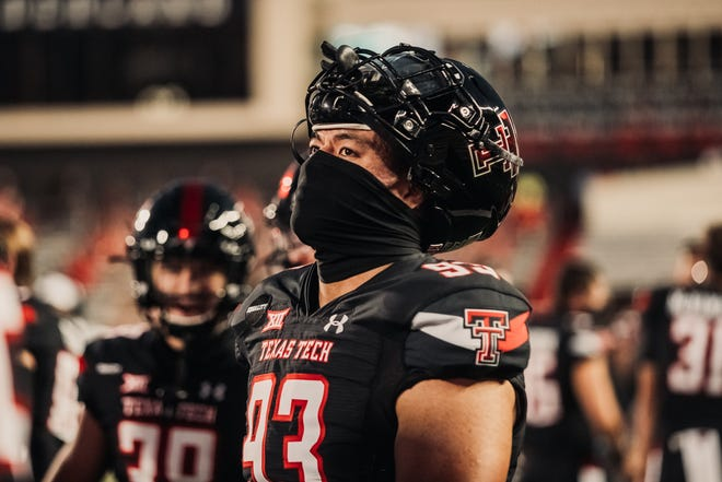 Texas Tech nose tackle Troy Te'o made his Red Raiders debut last week. Te'o is a native Australian who didn't start playing football until his early teens when his family moved to Lubbock.