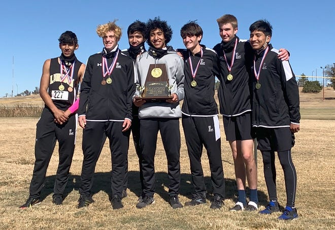 The Lubbock High boys cross country team won the program's first district championship during the District 4-5A Meet on Thursday at Mae Simmons Park