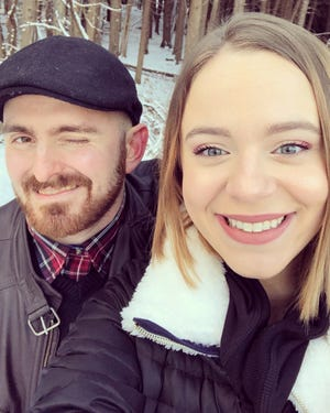 Matt Buonocore and Alaina DaRin are the owners of A Little Light Bookstore, located in Weed's Mercantile Mall.