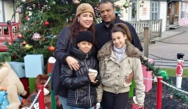 Wagner Salvador, wife Veruska, and children Albert and Ashley, were killed Oct. 23 in a car crash.