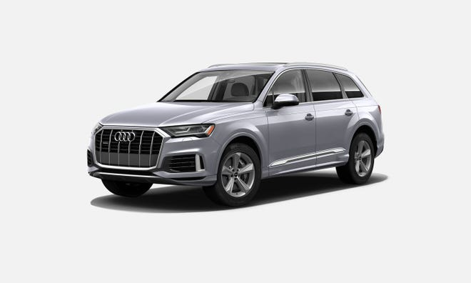 The 2021 Audi Q7 55 TFSI can accommodate seven passengers, though not many but agile small children would be enamored of the two-passenger third row.